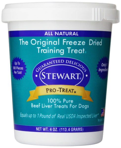 Stewart Pro-Treat Freeze Dried Beef Liver 4 oz.