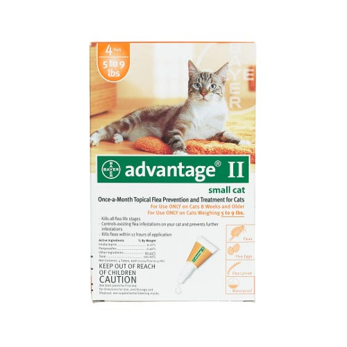 Flea Control for Cats 1-9 lbs 4 Month Supply