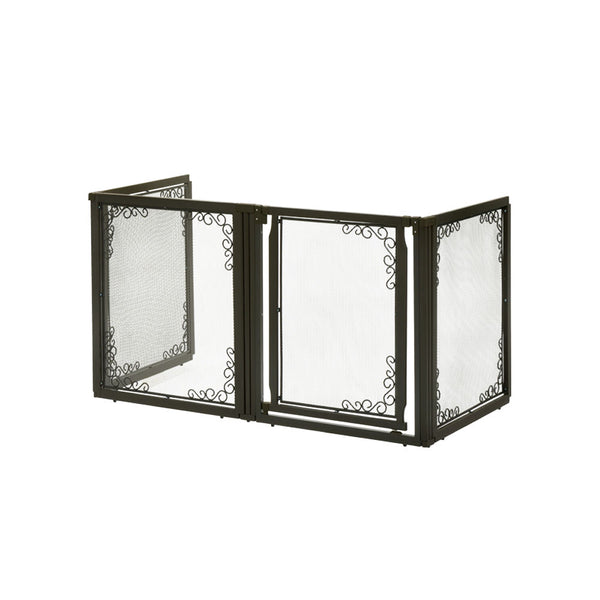 Convertible Elite Mesh Pet Gate 4 Panels