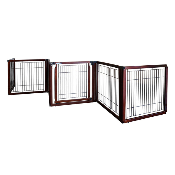 Convertible Elite Freestanding Pet Gate 6-Panel