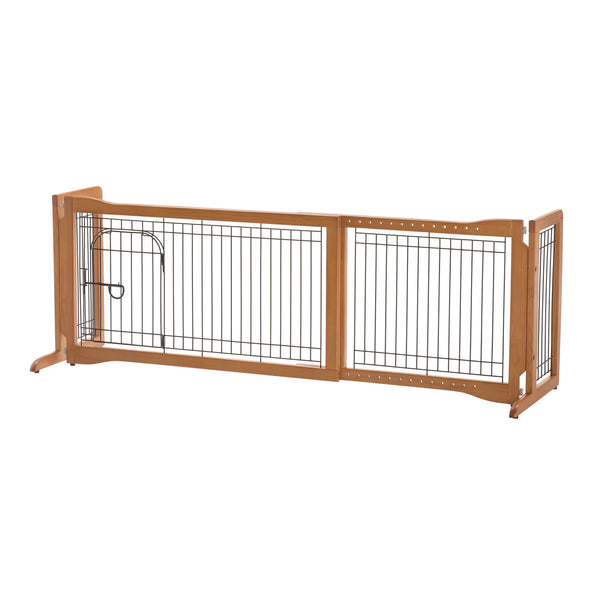 Pet Sitter Freestanding Pet Gate Plus