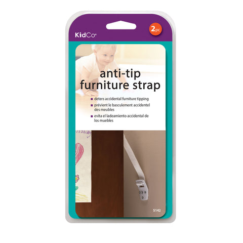 Anti-Tip Furniture Straps 2 pack