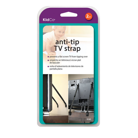 Anti-Tip TV Straps 2 pack