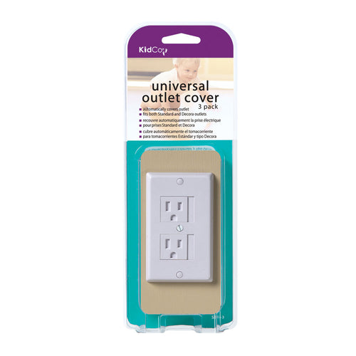 Universal Outlet Cover 3 pack