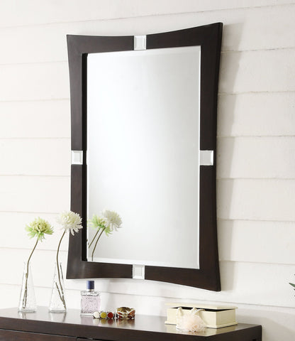 Aileene 26-inch Wall Mirror MR110580 - Chans Furniture