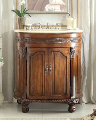 Versailles 32-inch Vanity CF-2869M-TK - Chans Furniture - 1