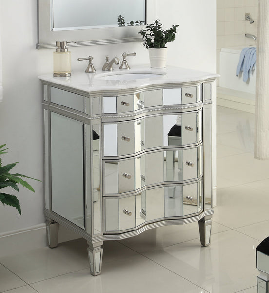 36 Benton Collection All Mirror Reflection 3 Drawers Ashley Bathroom The Benton Collection