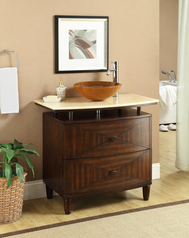 Verdana 36-inch Vanity Q136-1 - Chans Furniture - 1