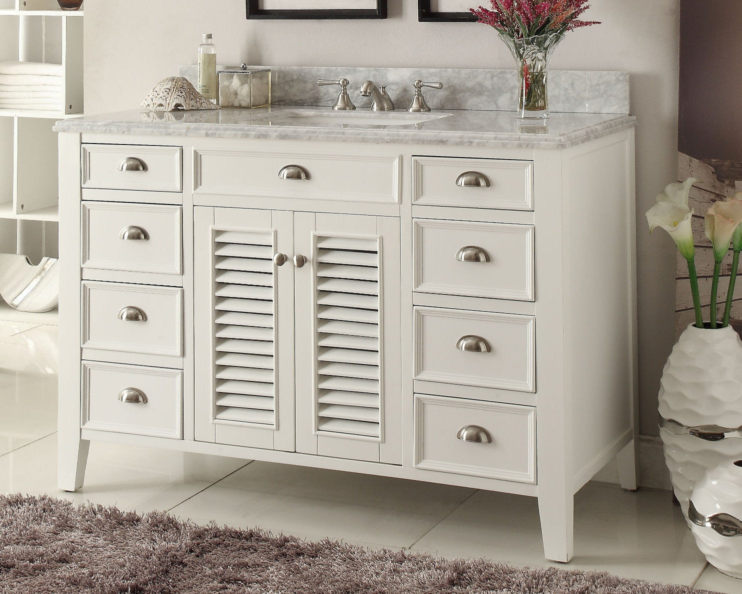 Kalani 50 Inch Vanity YR3028Q50   Chans Furniture   1 ...
