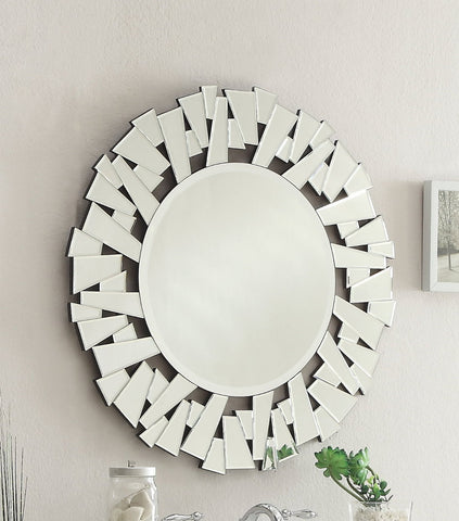 Kobe 32-inch Wall Mirror MR-3036 - Chans Furniture