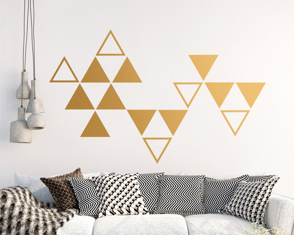 Triangle Wall Decals (Style 1)
