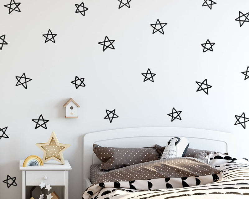 Star Doodle Wall Decals