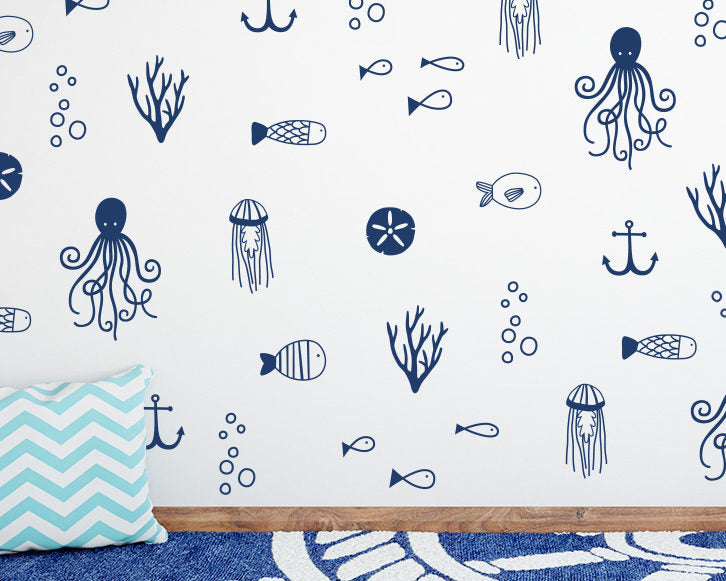 Sea Life Wall Decals
