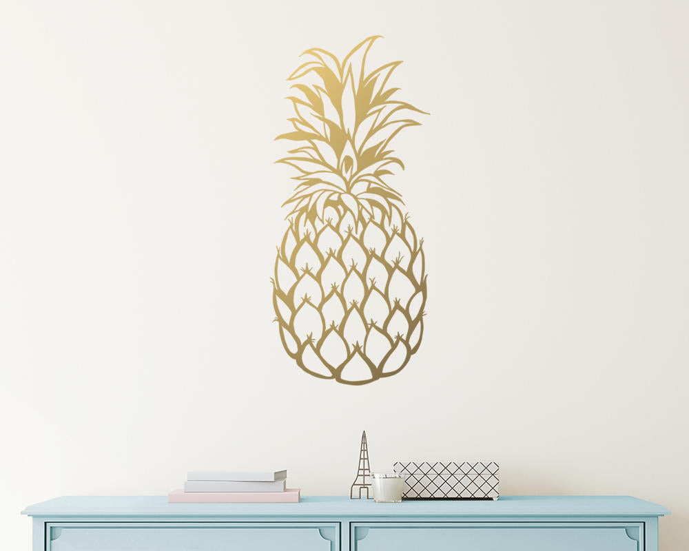 Pineapple Wall Decal - 28""