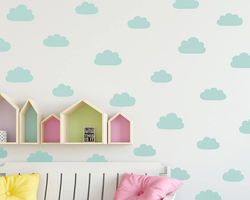 Cloud Wall Decals (Style 2)