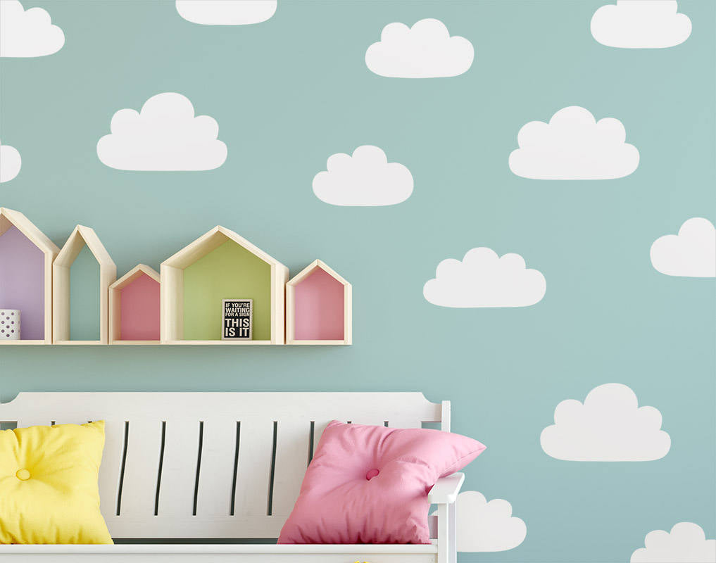 Cloud Wall Decals (Style 1)