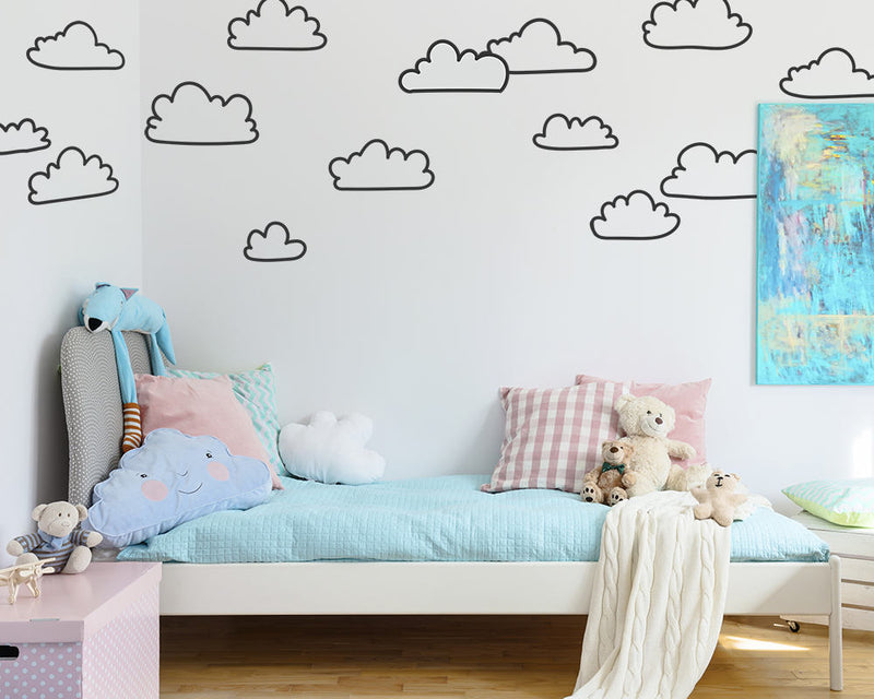 Cloud Outline Wall Decals