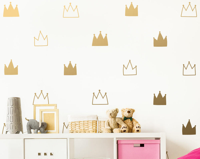 Crown Wall Decals (Style 1)