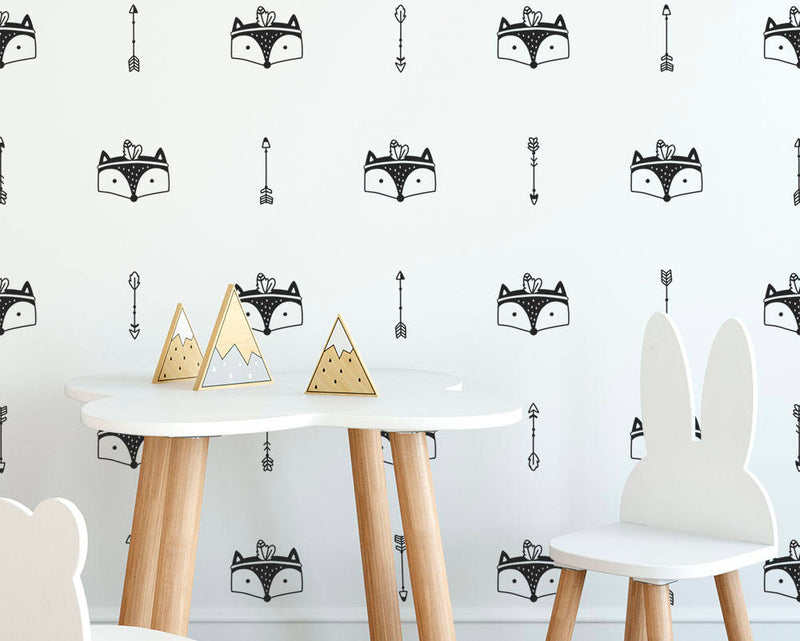 Fox & Arrow Wall Decals