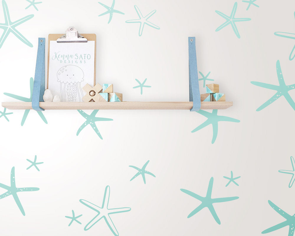 Starfish Wall Decals