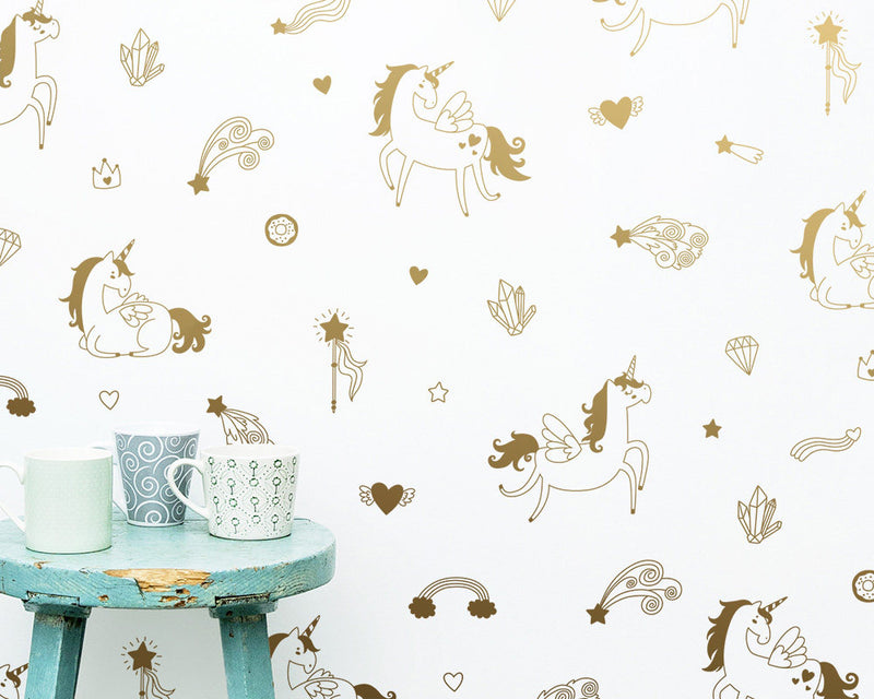 Magical Unicorn Wall Decals