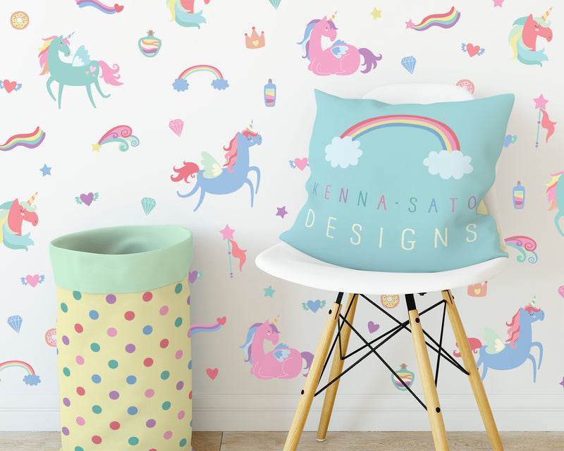 Dinosaurs - Printed Reusable Dinosaur Wall Decals