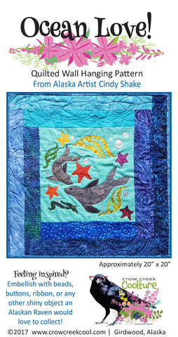 Quilted Wall Hanging Pattern - Ocean Love!