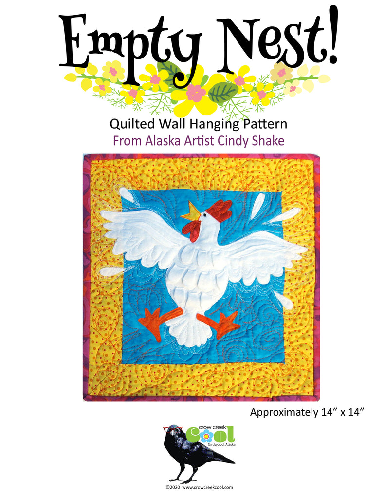 Empty Nest - Digital Download Quilted Wall Hanging Pattern