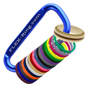 Womens Sand Silicone Ring with Changeable Color Bands Combo Pack