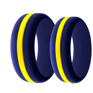 Navy Silicone Ring