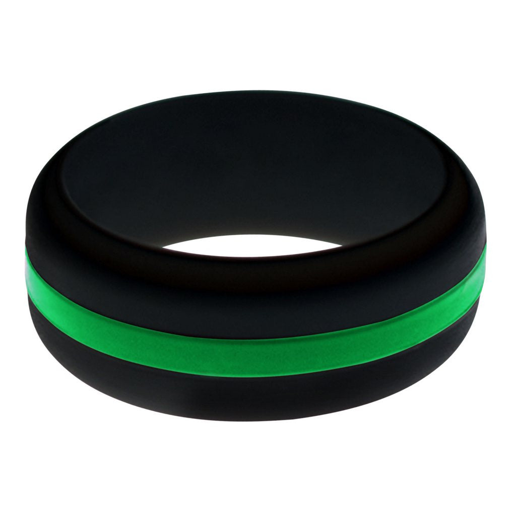 silicone ultralite min obsidian rings men s ring mens