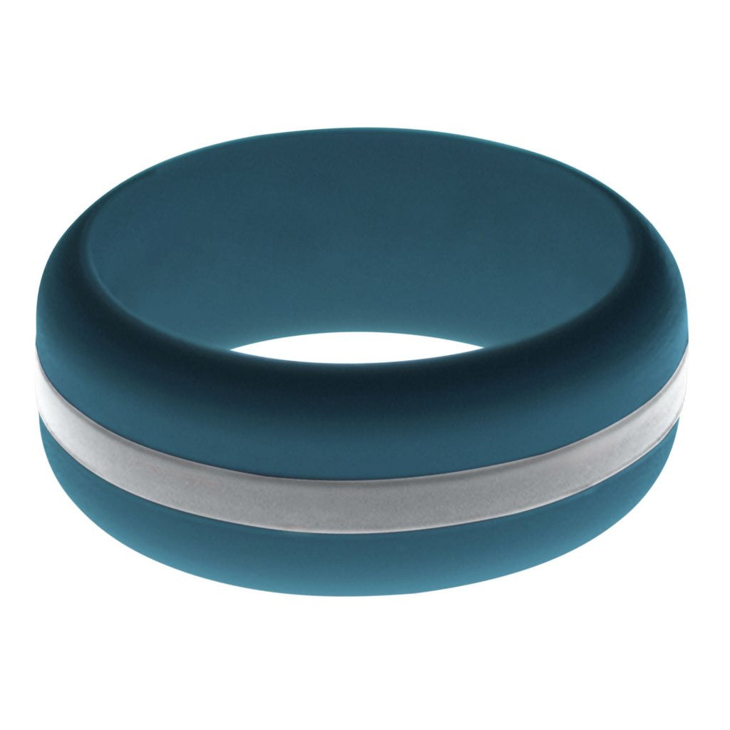 """Stretchy Wedding Bands >> FLEX Ring - Stretchy Color Change Design Silicone Wedding Bands Tagged """"Men's"""""""
