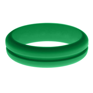Womens Teal Silicone Ring without Changeable Color Band