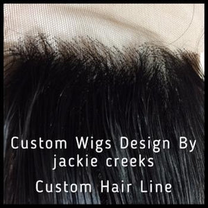 Salon Services - Customizing Frontal Hairline Service