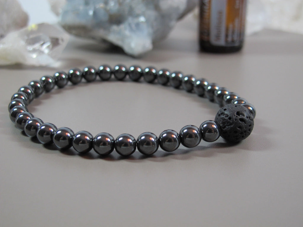 The Hematite Couple Bracelet