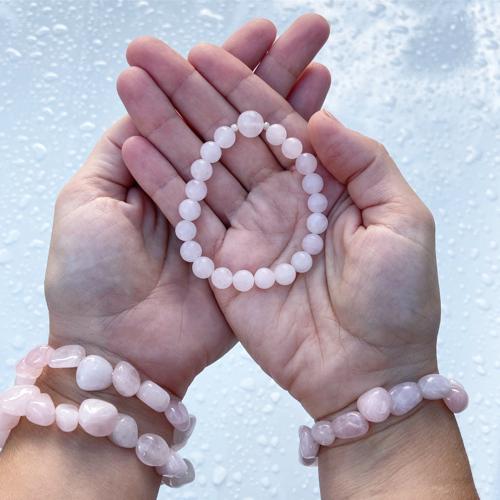 Rose Quartz Stack