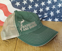 W.A.R. Low profile tan/green