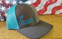 WAR Bull Hat charcoal/navy blue