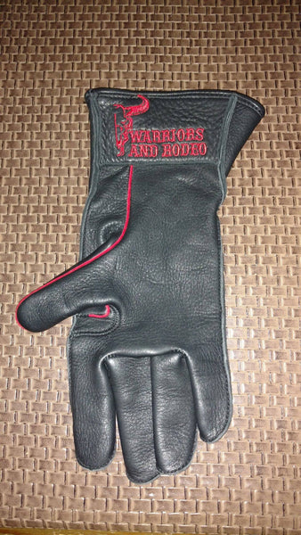 Warriors and Rodeo Right Hand Riding Glove