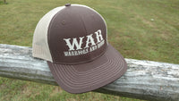 WAR Logo Hat Brown/Khaki