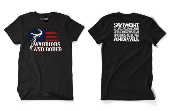 SAYiWON'T WAR Shirt