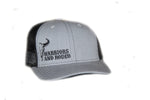WAR Bull Hat Grey/Black