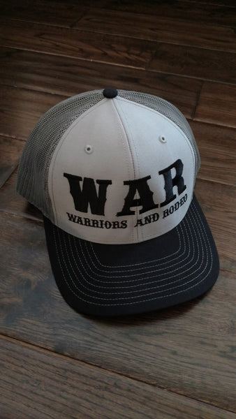 WAR Logo Hat Black/Grey
