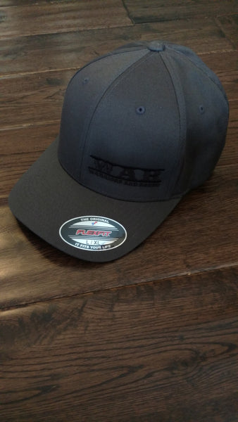 WAR Logo and Bull Hat grey
