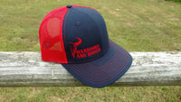 WAR Bull Hat Navy/Red