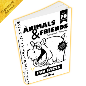 copyright-©-2017-the-animals-and-friends-coloring-book-volume-one-by-mr-gray-look-inside-00