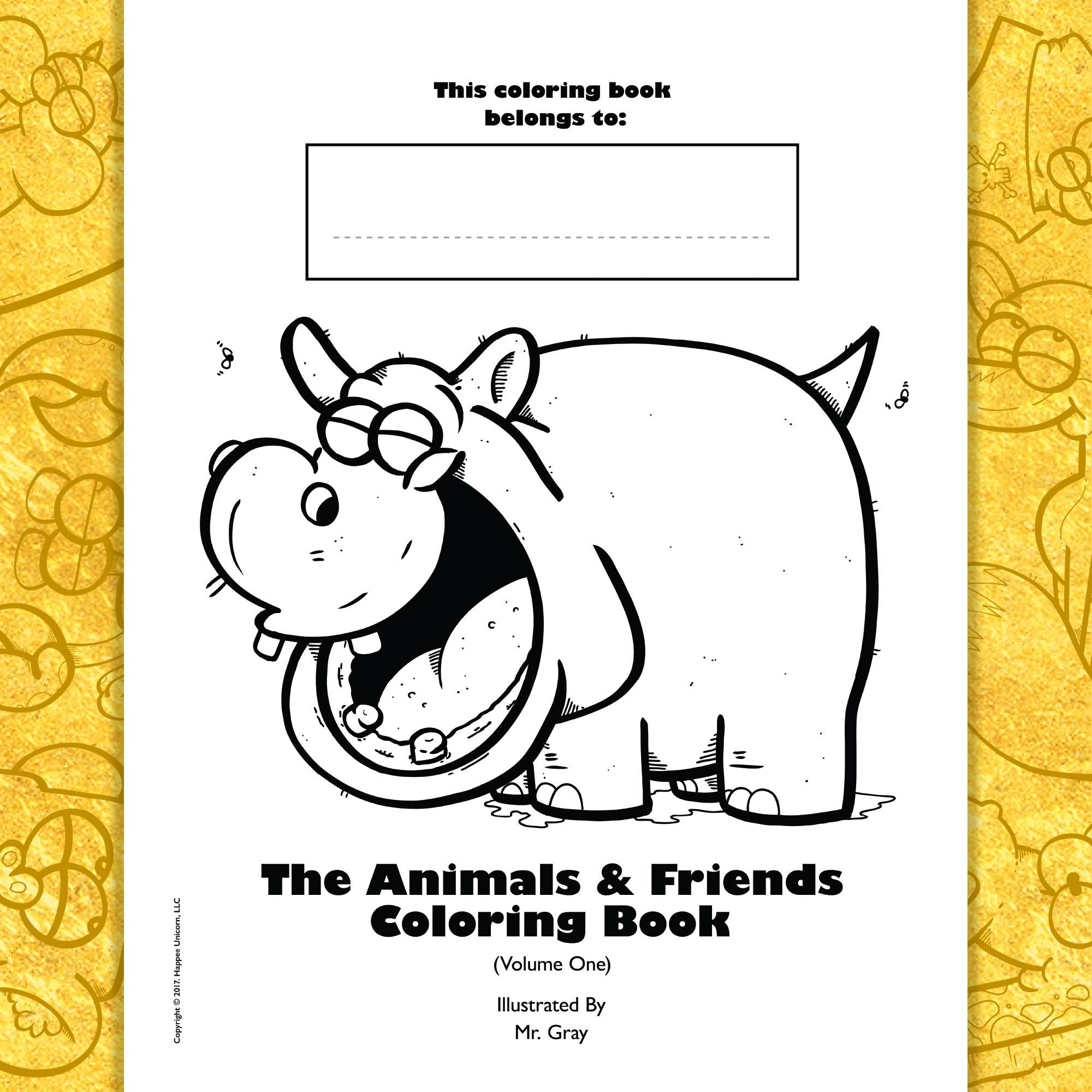 copyright-©-2017-the-animals-and-friends-coloring-book-volume-one-by-mr-gray-look-inside-02