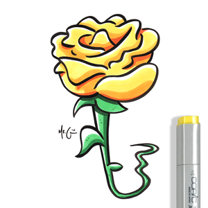 2019-©-copyright-yellow-rose-quickdrawmcdrew-mr-gray-www.quickdrawmcdrew.com-all-rights-reserved