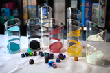 Clear acrylic tube dice towers - Blackthumb Creations