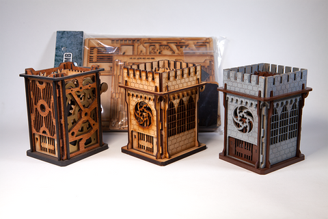 Mini Mechanical Dice Towers. While quantities last!